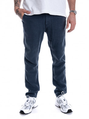 Linen trousers navy