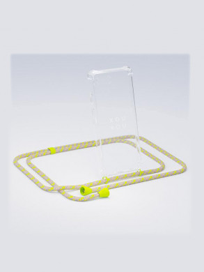 iPhone necklace XR neon camo