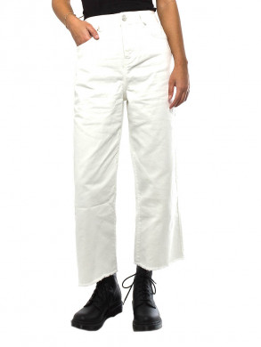 Nina jeans wide ancle white