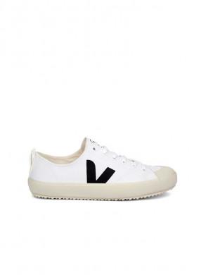 Nova canvas sneaker white black