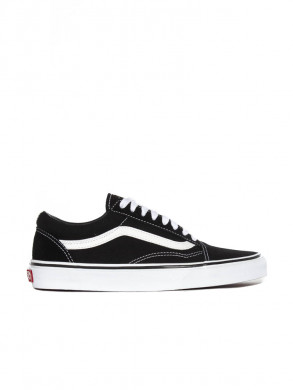Comfycush old school sneaker black white
