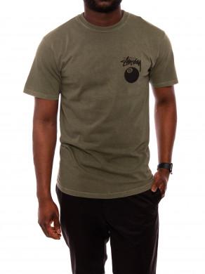 8 Ball t-shirt olive