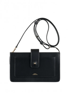 Albane clutch bag lzz noir