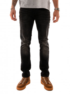 Razor denim pants aceb washed black