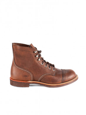 Iron ranger boots brown