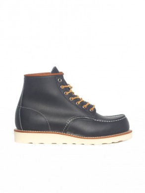 6inch moc boots navy