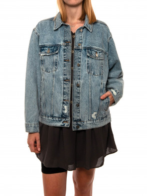 Rory denim jacket vintage blue