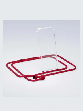 iPhone necklace x riot red