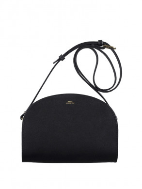 Sac demi lune structure bag lzz-noir