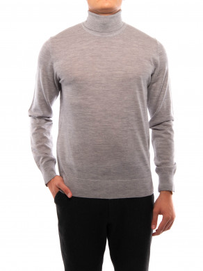 Flemming pullover turtle grey mel