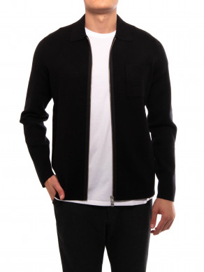 Guna cardigan x zip 10490 black