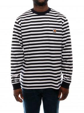 Scotty longsleeve pocket stripe