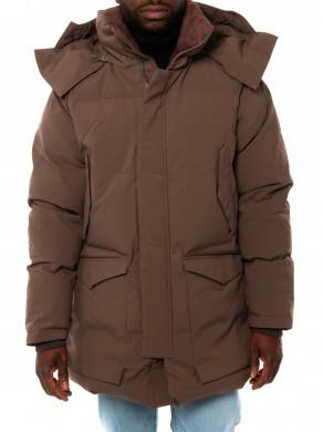 Warm jacket brown