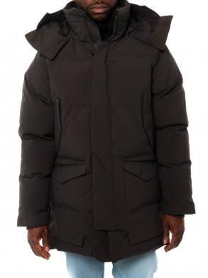 Warm jacket black