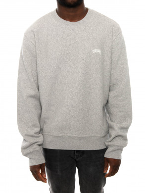 Stock logo sweatshirt grey heather