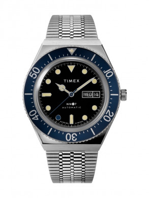 Timex m79 automatic navy blue