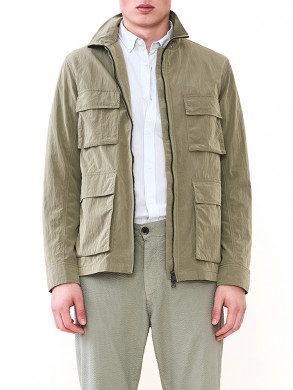 Travis utility jacket dark sage