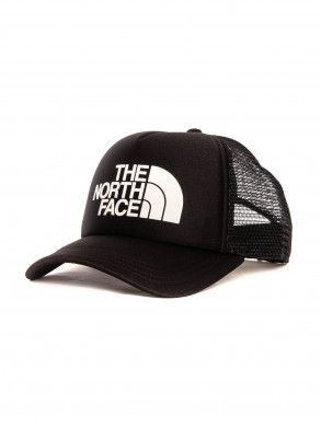 Logo trucker cap black