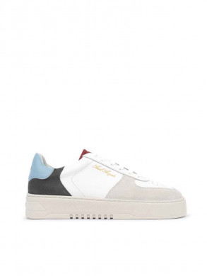 Orbit sneaker white blue red