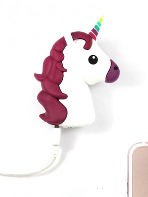 Unicorn power bank white