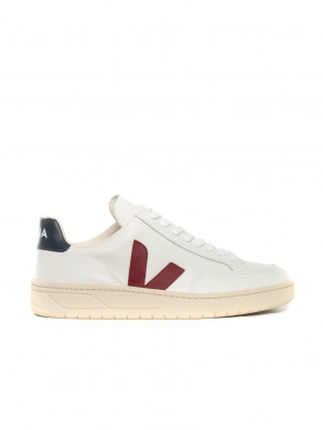 V12 leather sneaker marsala nautico