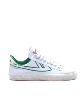 Iconic shanghai basketball sneaker wht green out