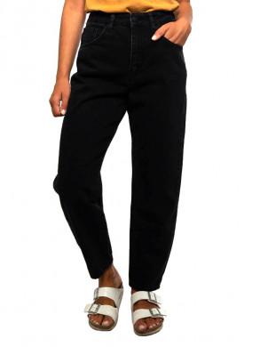 Cristi carrot jeans crop black