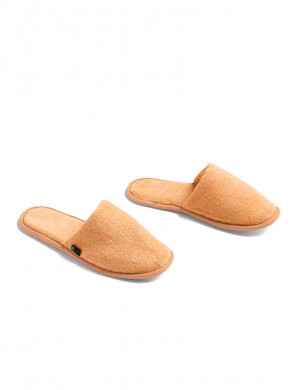 Frotté slippers warm yellow