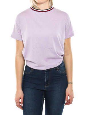 Back detail tee purple 1 - invisable