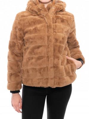 Saba jacket fakefur khaki