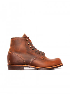 Blacksmith boots copper rough