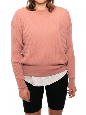 Becca pullover dusty rose