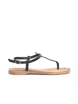 Leather sandals leather black