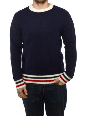 French pullover dk navy