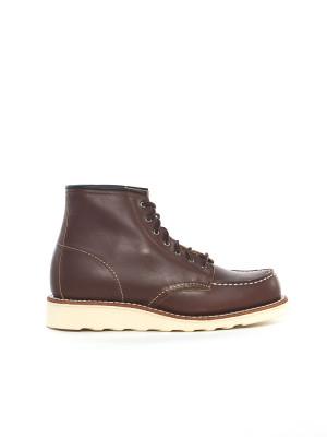 Wmns 6 inch moc boots mahogany