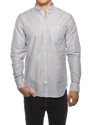 Anton oxford shirt magnet grey