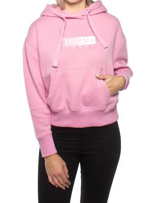 Clean logo hoodie rose