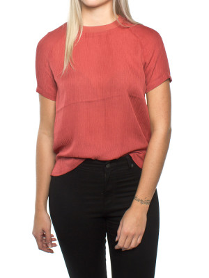 Carin blouse mineral red