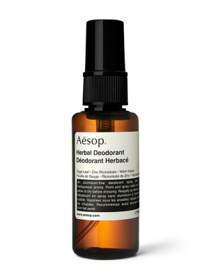 Herbal deodorant spray