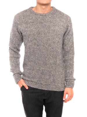 Zapitown pullover argent chine