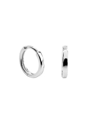 Baby hoops earrings silver