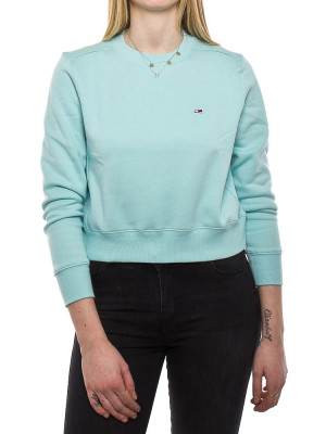 Side seam sweater blue