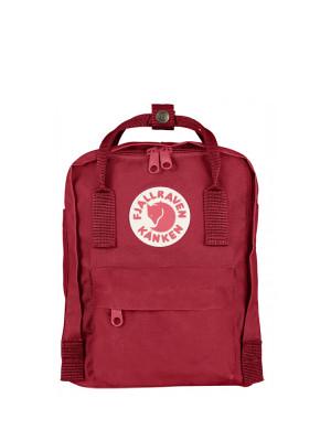 Kånken mini backpack deep red