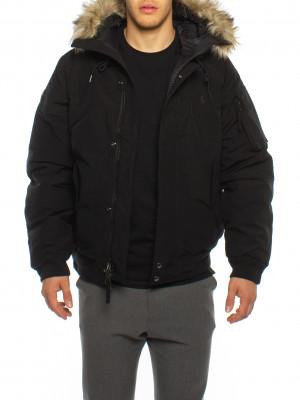 Annex down bomber jacket black