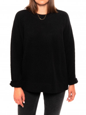 Nor o-n long pullover 7355 black