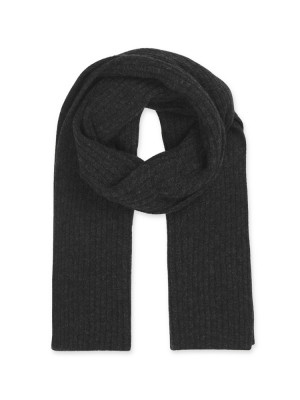 Nori scarf black mel