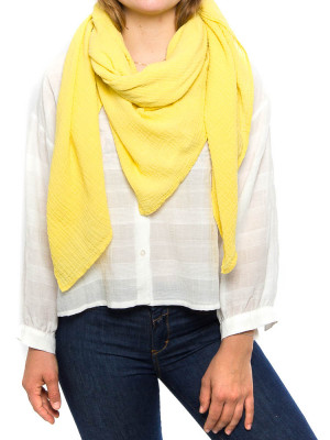 Cachecol musselin scarf yellow