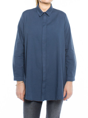 Nuria blouse navy 1 - invisable