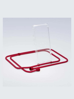 iPhone necklace XR riot red