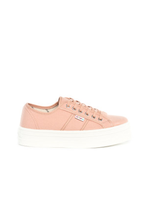 Blucher lona shoes maquillaje rose